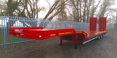 Easyneck drop frame machinery carrier Front